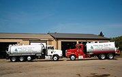 Pumping trucks