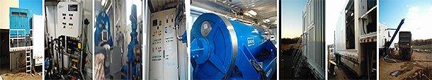 Montage of centrifuge photos